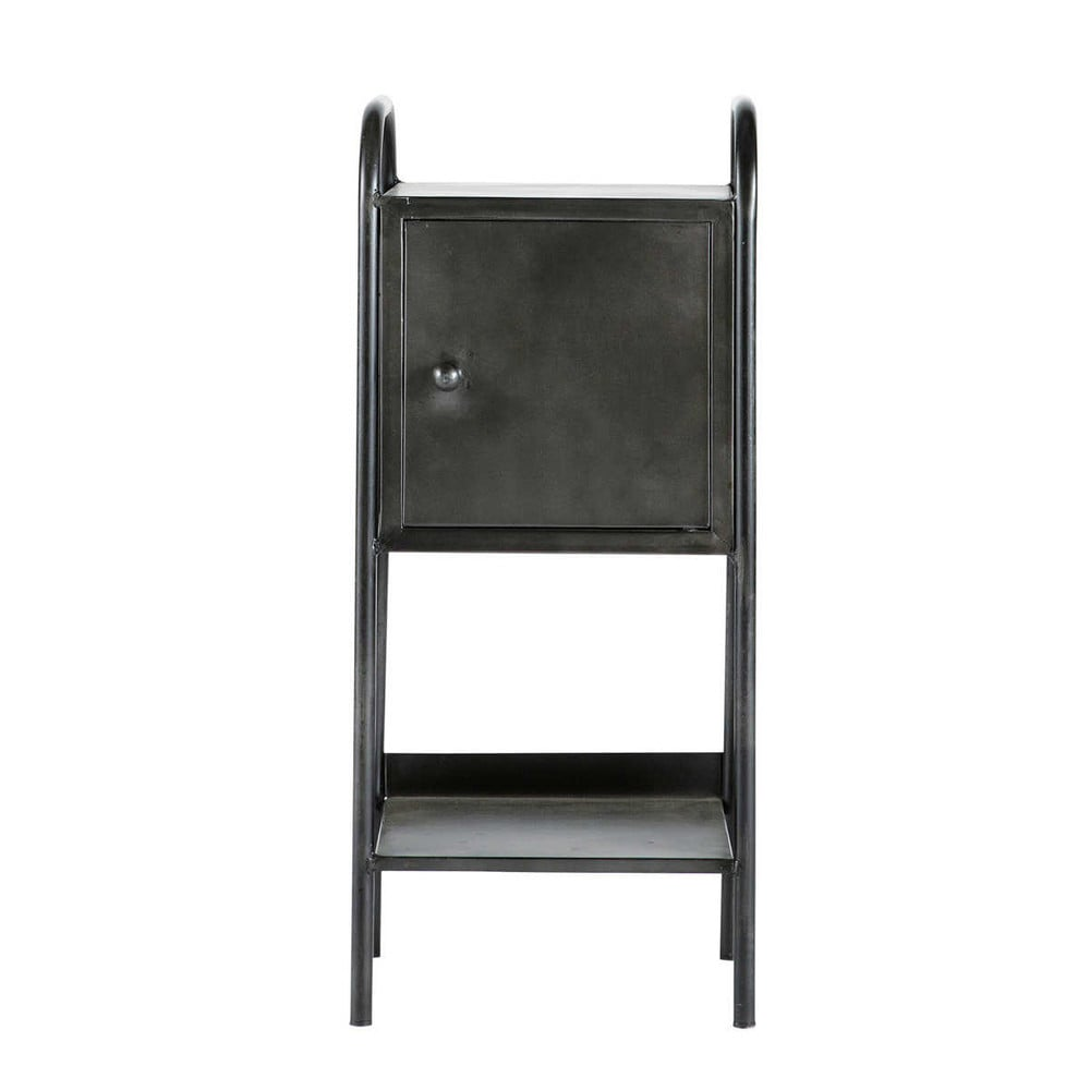 chevet indus noir edison maisons du monde. Black Bedroom Furniture Sets. Home Design Ideas