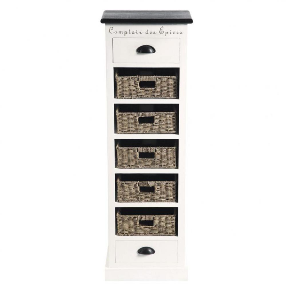 chiffonnier 124 cm comptoir des pices maisons du monde. Black Bedroom Furniture Sets. Home Design Ideas