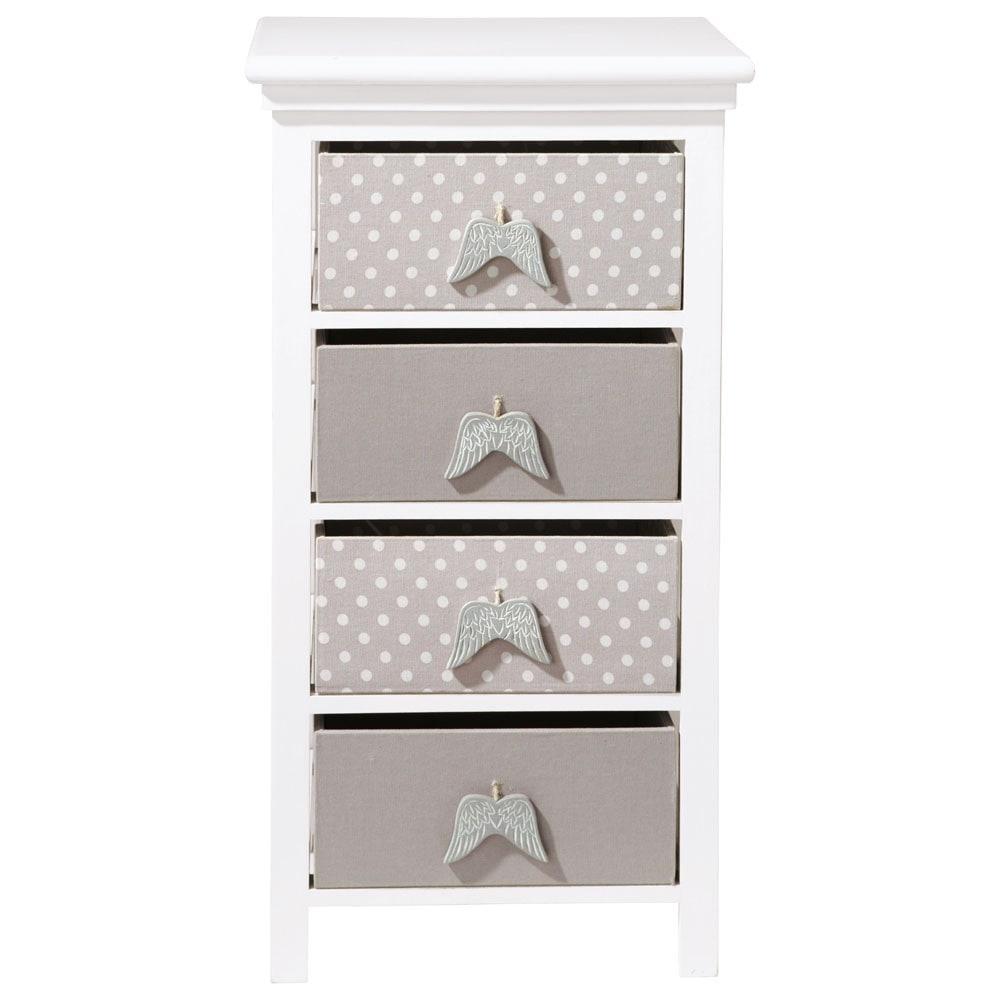 chiffonnier enfant blanc l 46 cm ange maisons du monde. Black Bedroom Furniture Sets. Home Design Ideas