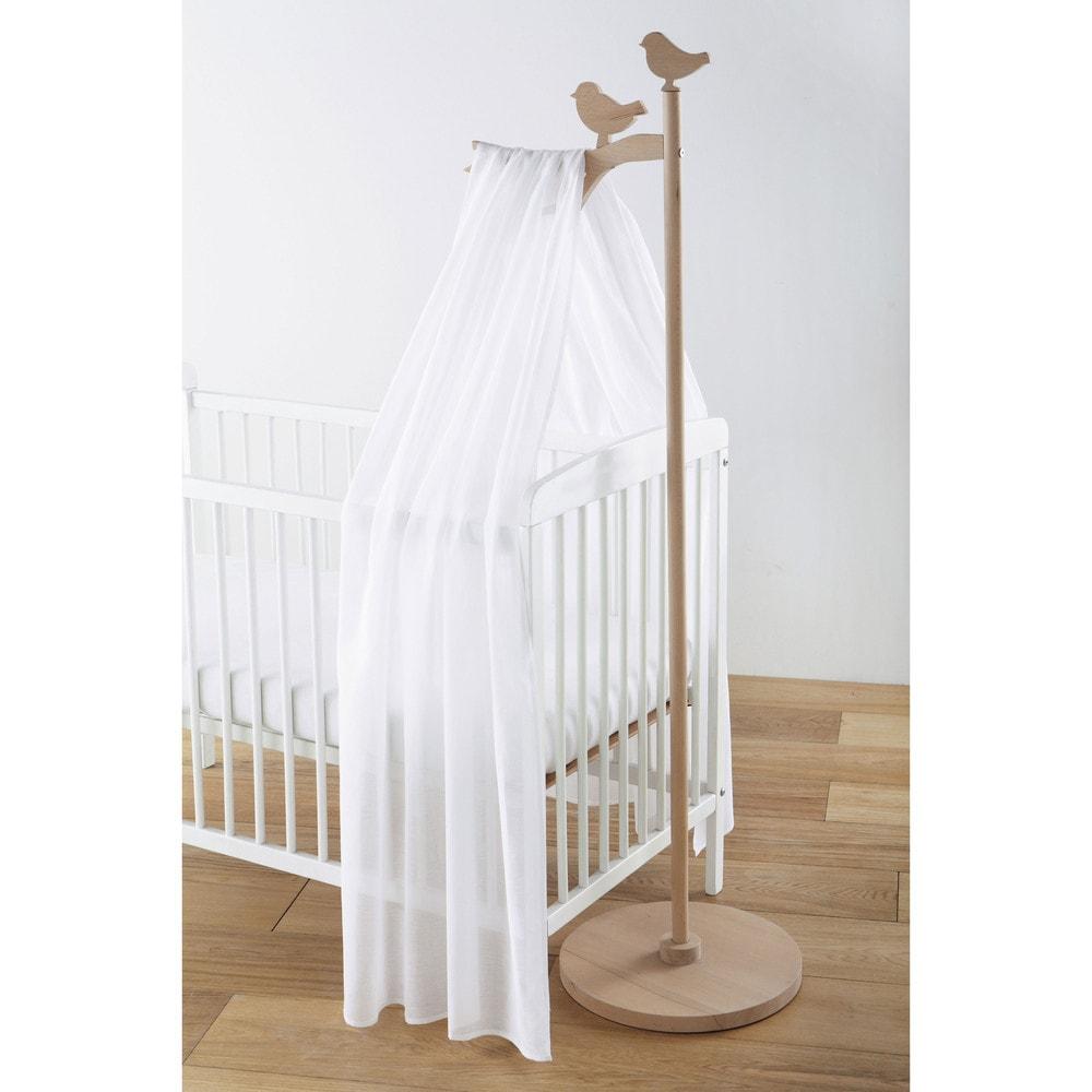 Ciel de lit enfant en bois l 40 cm lapinou maisons du monde - Lit bebe maison du monde ...