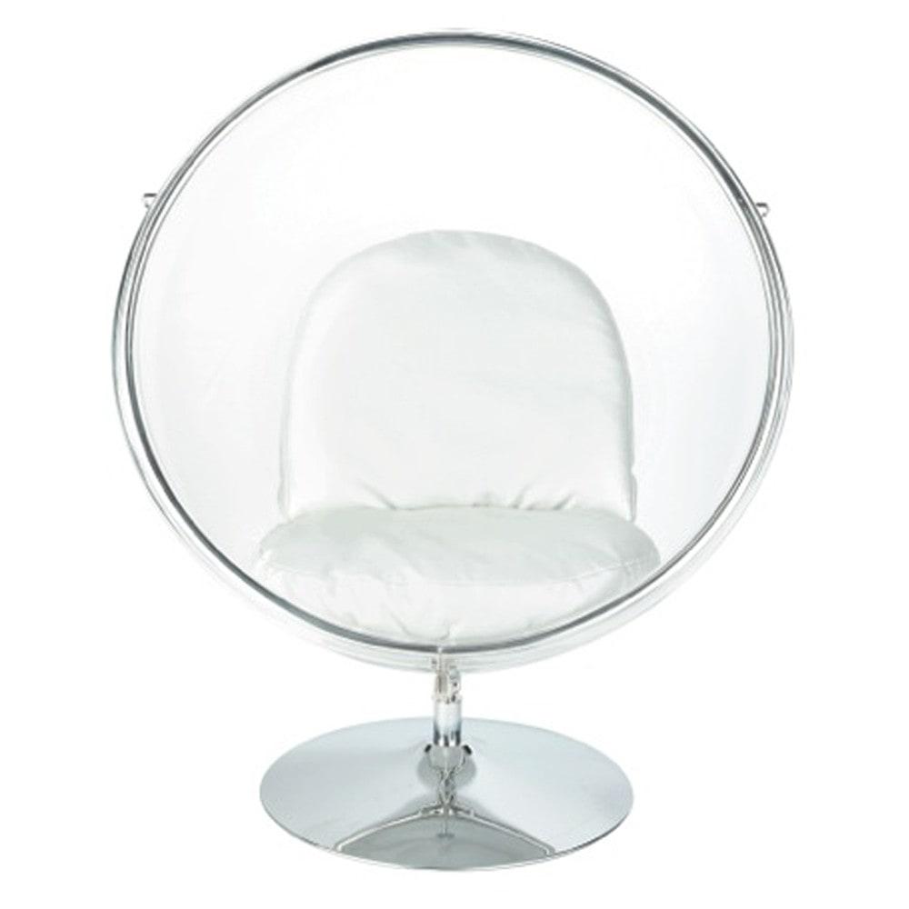 clear egg chair sph re sphere maisons du monde. Black Bedroom Furniture Sets. Home Design Ideas