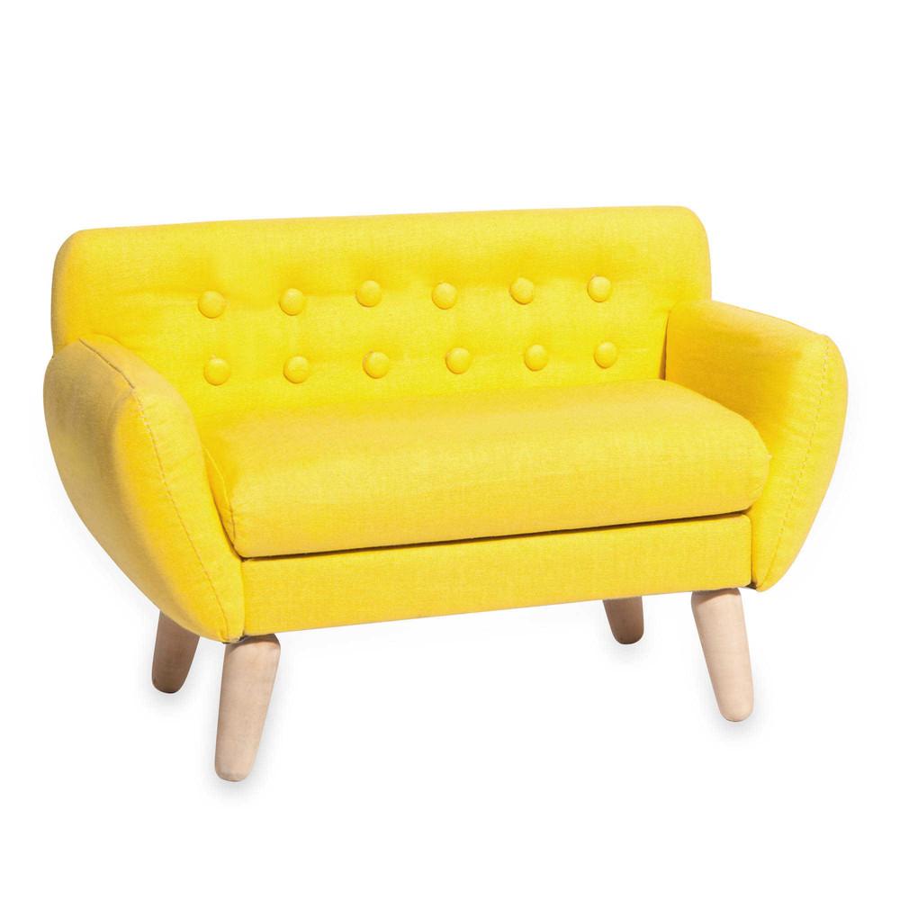 cofanetto portagioie divano giallo iceberg maisons du monde. Black Bedroom Furniture Sets. Home Design Ideas