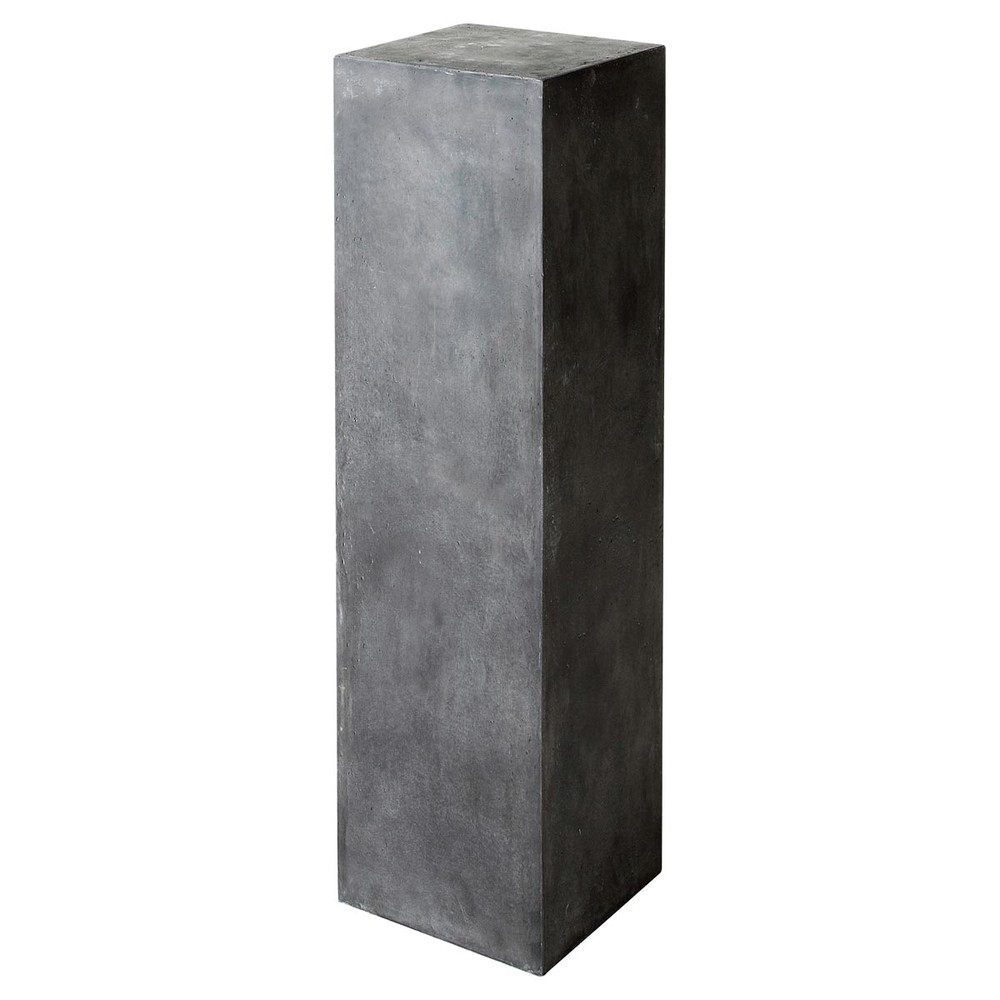 colonne anthracite b ton mineral maisons du monde. Black Bedroom Furniture Sets. Home Design Ideas