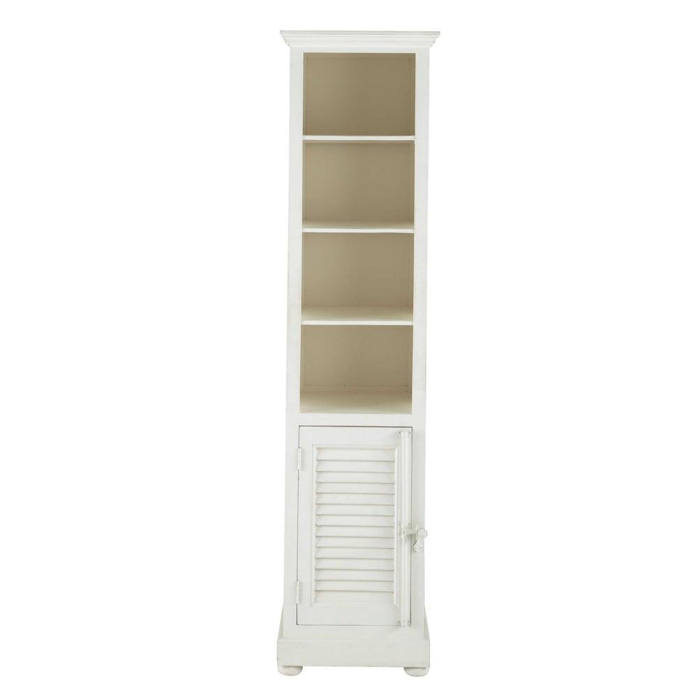 colonne en manguier blanc cass h 198 cm castille maisons du monde. Black Bedroom Furniture Sets. Home Design Ideas
