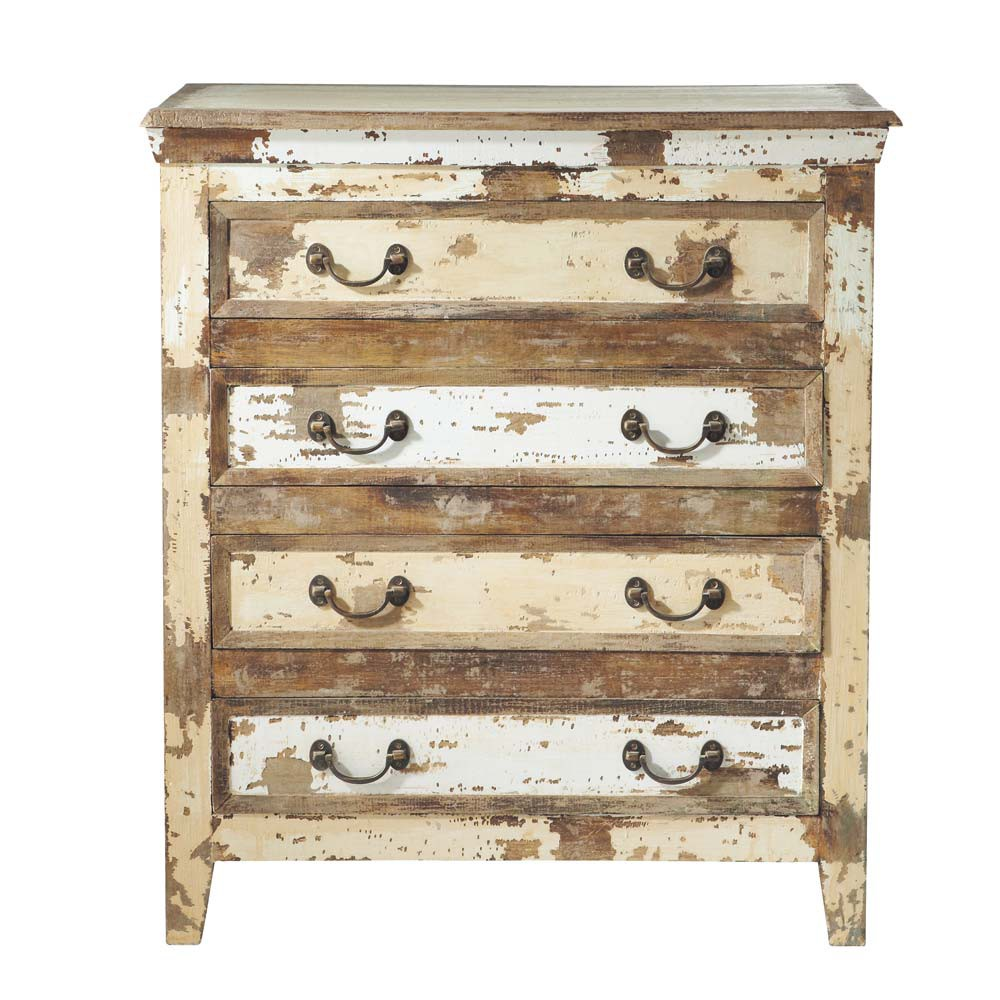 Commode porquerolles maisons du monde for Meuble antique a donner