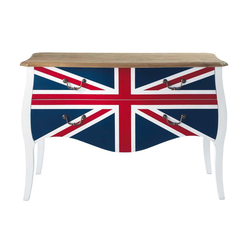 commode union jack maisons du monde. Black Bedroom Furniture Sets. Home Design Ideas