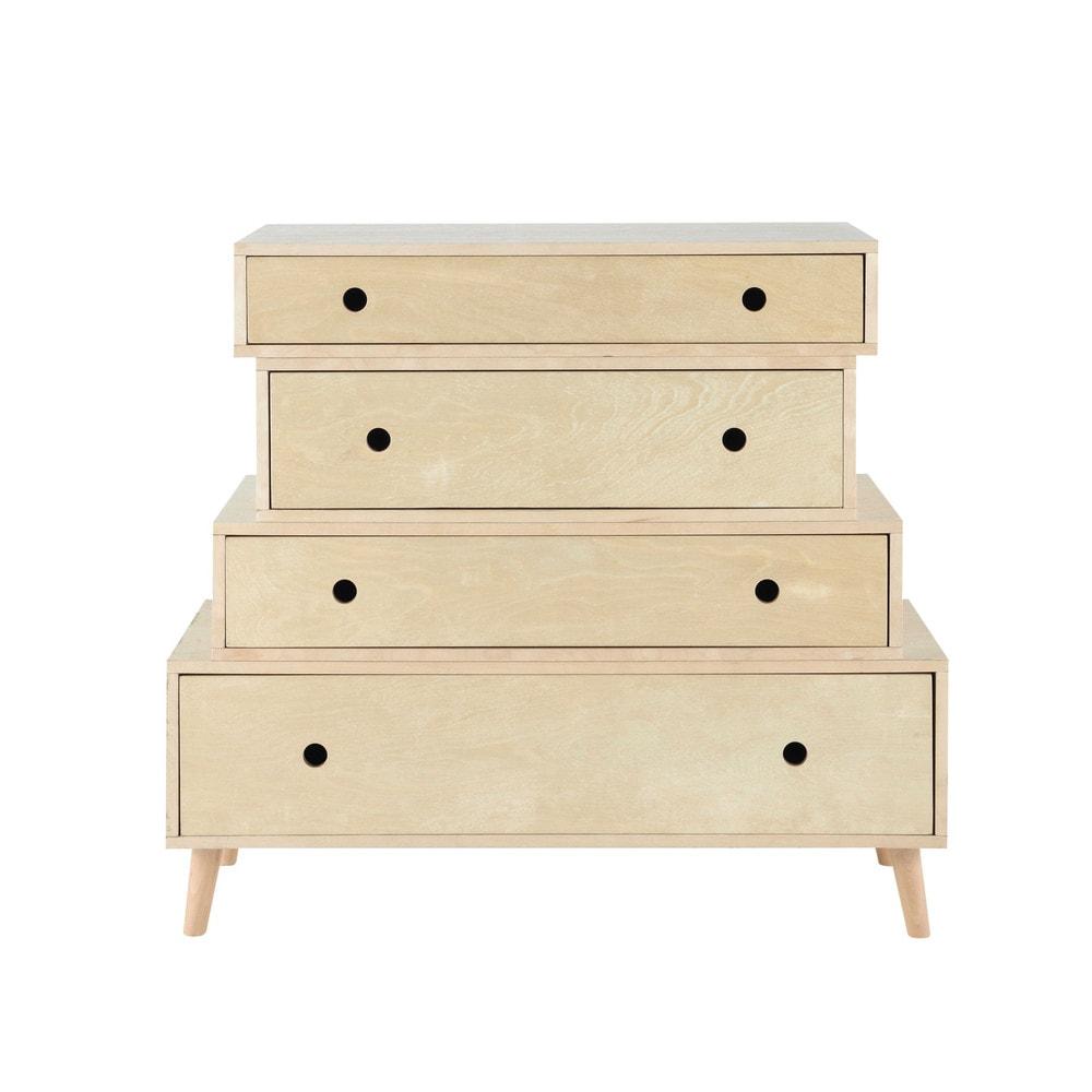 commode vintage en bois l 95 cm dekale maisons du monde. Black Bedroom Furniture Sets. Home Design Ideas