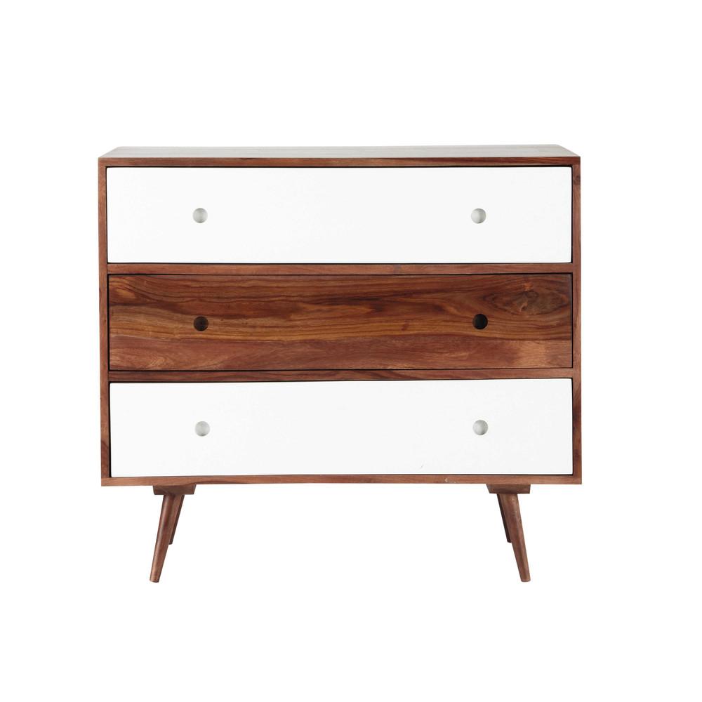 c moda vintage de madera maciza de palo rosa an 95 cm andersen maisons du monde. Black Bedroom Furniture Sets. Home Design Ideas