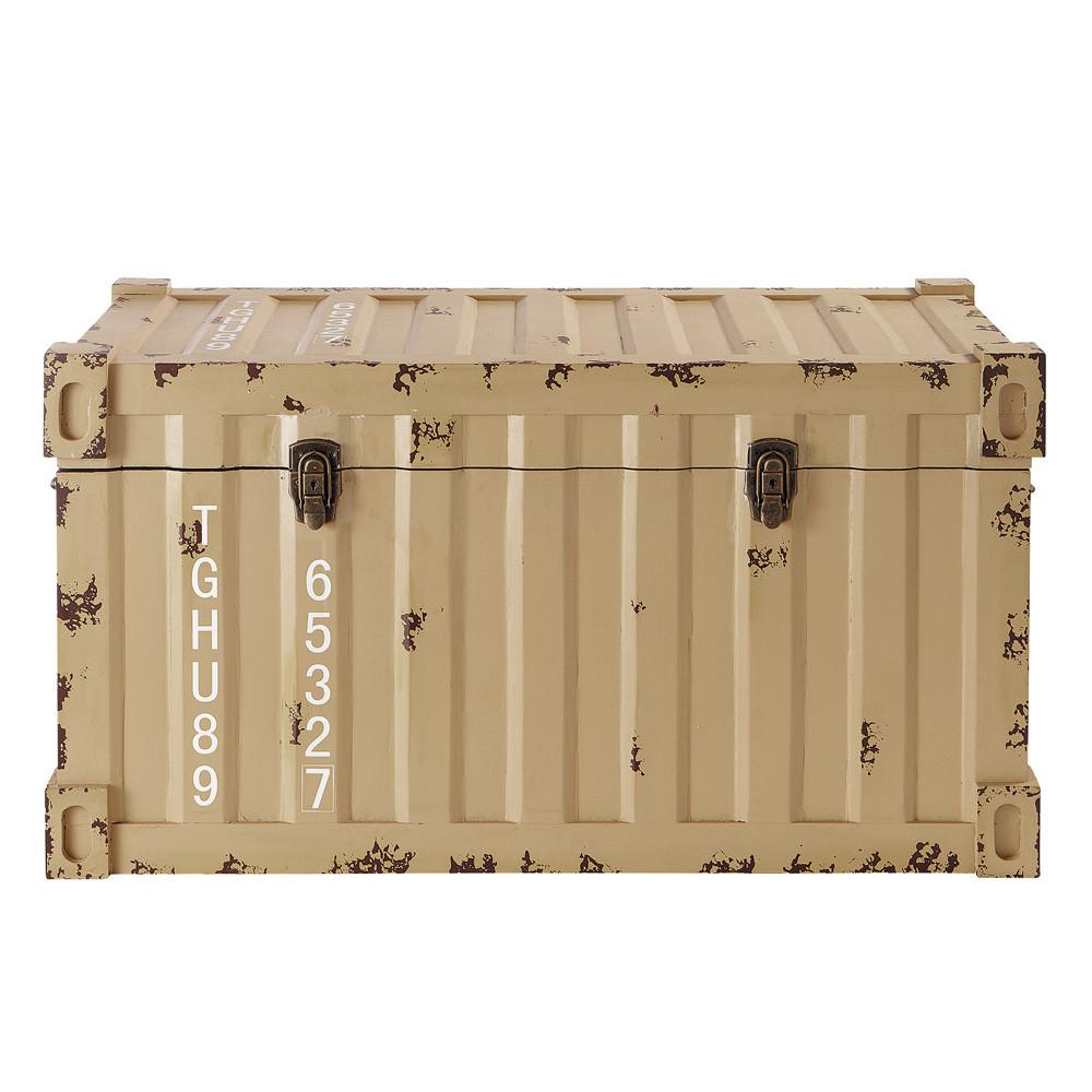 Container trunk maisons du monde for Container maison du monde