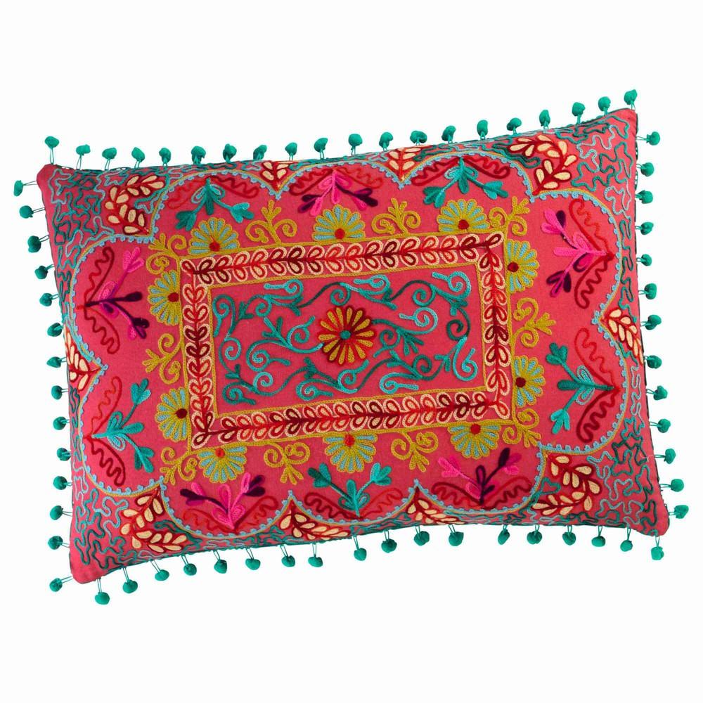 copiaco cotton cushion multicoloured 30 x 50cm maisons du monde