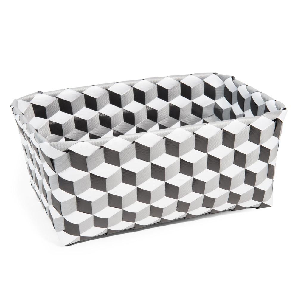 corbeille en plastique 19 x 30 cm blackstage maisons du monde. Black Bedroom Furniture Sets. Home Design Ideas