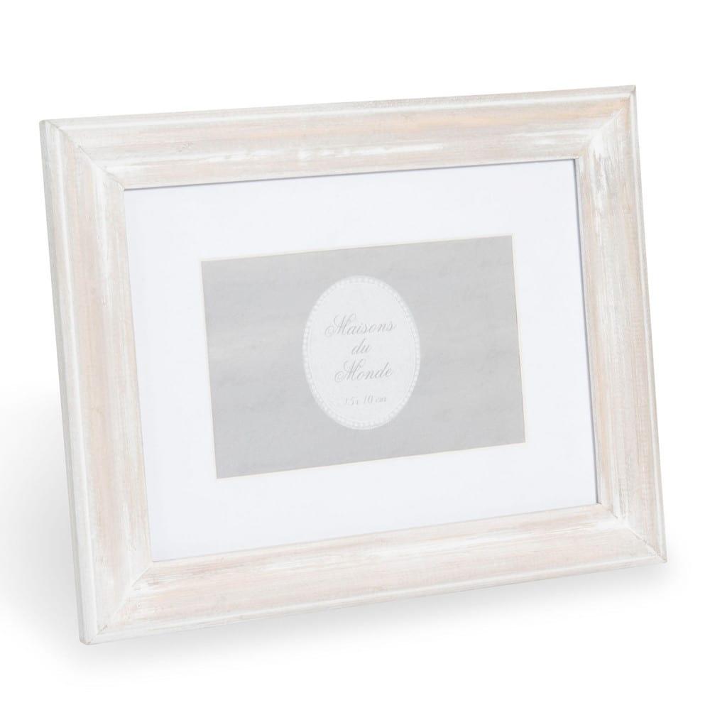 Cornice foto in legno 10x15 cm anna maisons du monde for Cornice foto legno