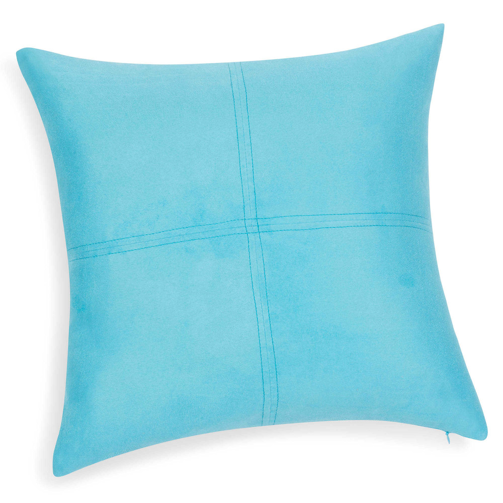 coussin bleu 40 x 40 cm swedine maisons du monde. Black Bedroom Furniture Sets. Home Design Ideas
