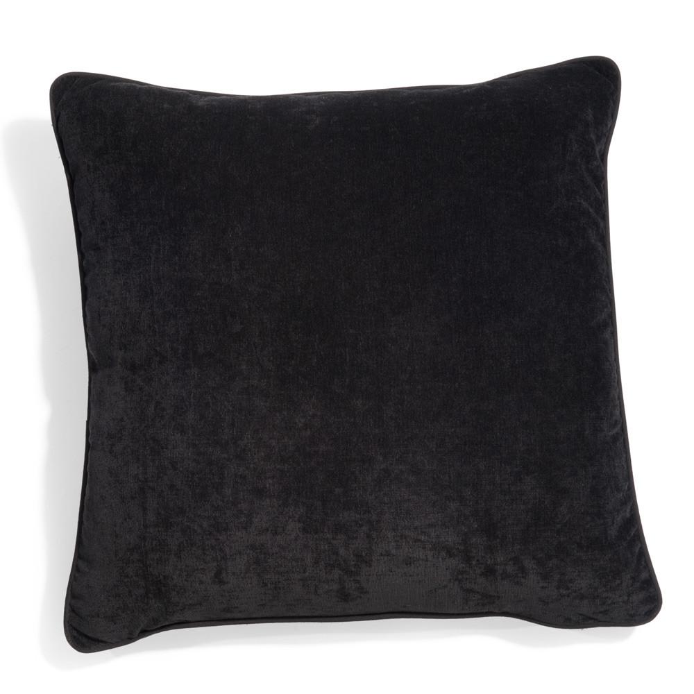 coussin class noir maisons du monde. Black Bedroom Furniture Sets. Home Design Ideas