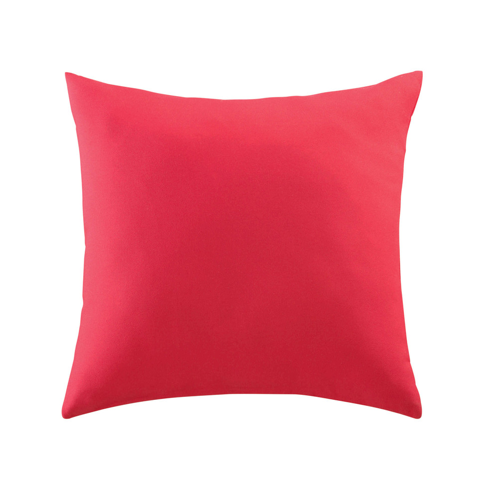 coussin d 39 ext rieur rose fuchsia 40 x 40 cm maisons du monde. Black Bedroom Furniture Sets. Home Design Ideas