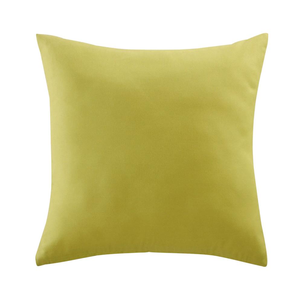 coussin d 39 ext rieur vert 50 x 50 cm maisons du monde. Black Bedroom Furniture Sets. Home Design Ideas