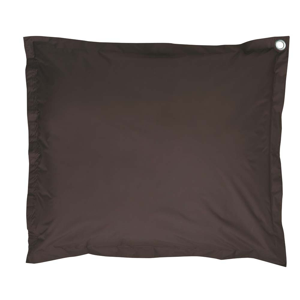 coussin de sol chocolat soft maisons du monde. Black Bedroom Furniture Sets. Home Design Ideas