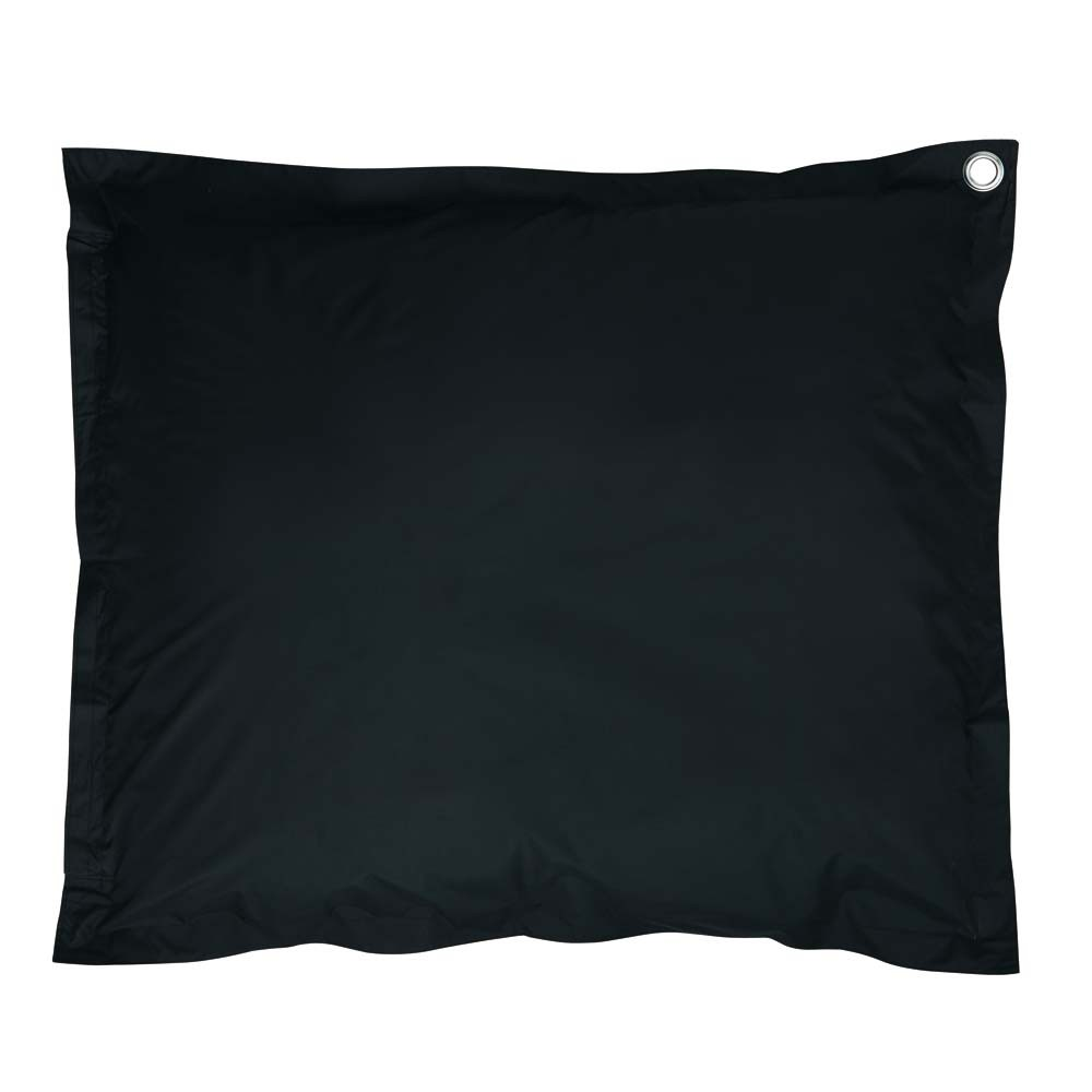 coussin de sol noir soft maisons du monde. Black Bedroom Furniture Sets. Home Design Ideas