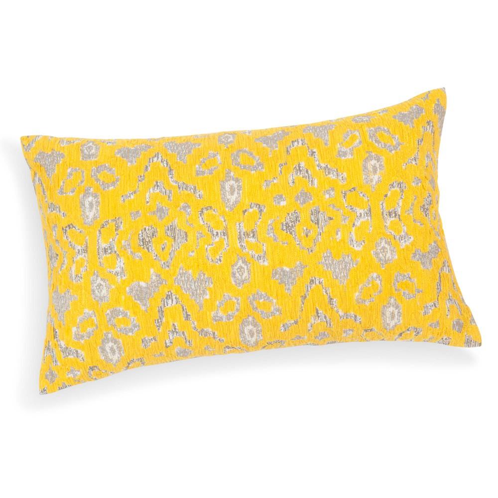 Coussin en coton jaune 30 x 50 cm chaves maisons du monde - Coussin jaune maison du monde ...