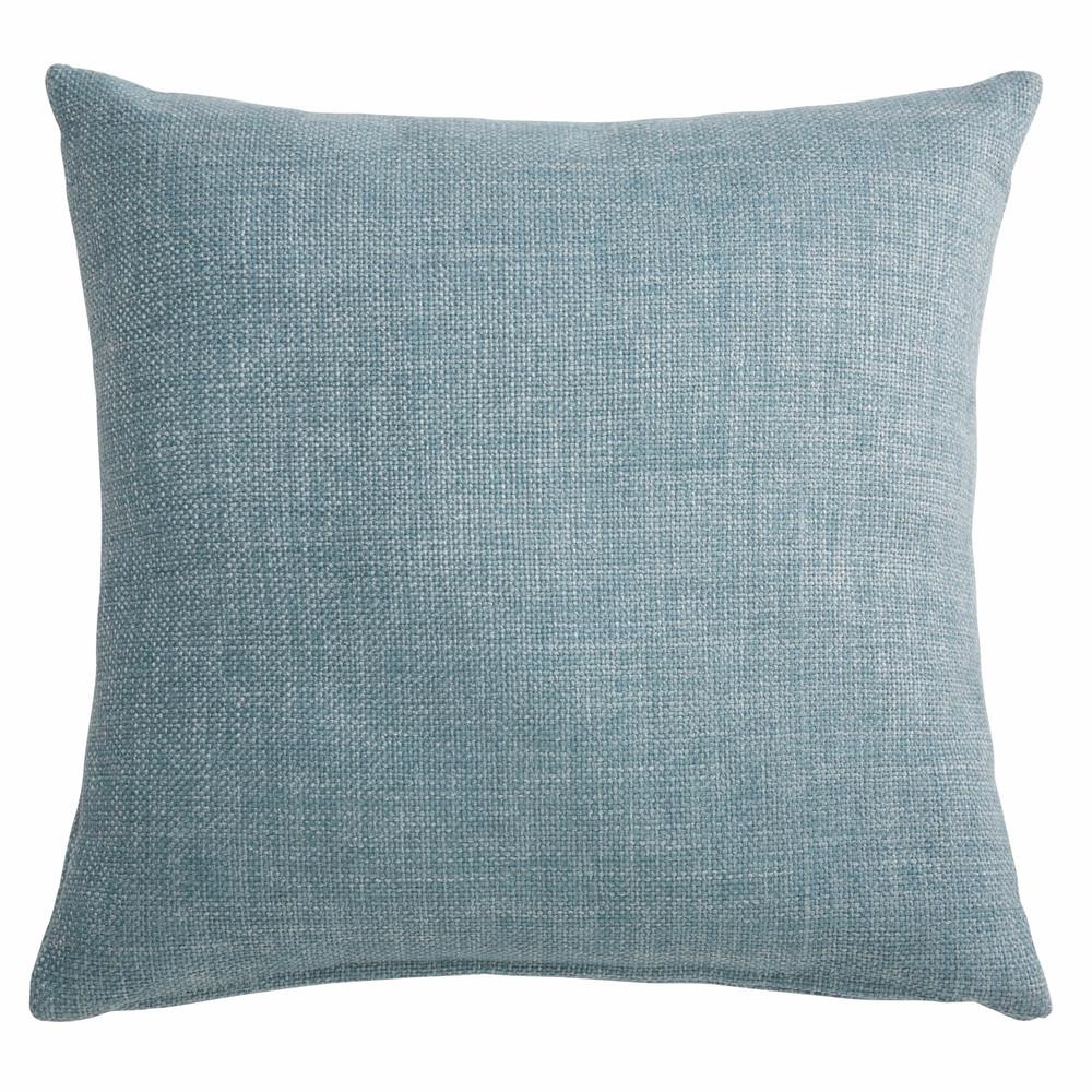 coussin en tissu bleu 45x45cm andy maisons du monde. Black Bedroom Furniture Sets. Home Design Ideas