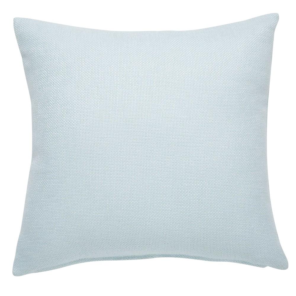 coussin en tissu bleu clair 45x45cm andy maisons du monde. Black Bedroom Furniture Sets. Home Design Ideas