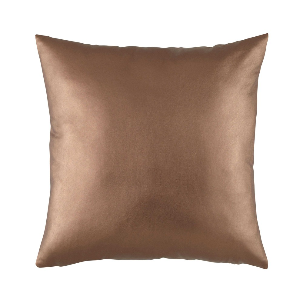 coussin en tissu cuivr 50 x 50 cm copper maisons du monde. Black Bedroom Furniture Sets. Home Design Ideas