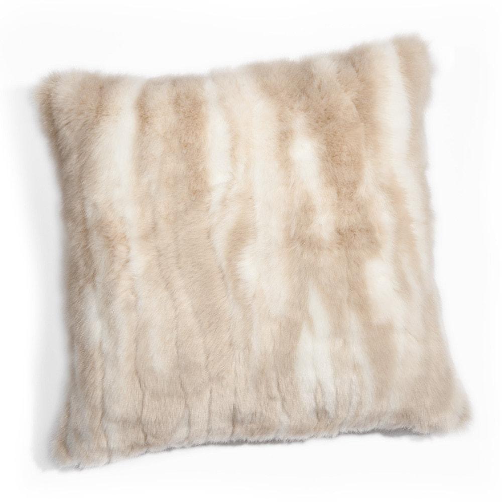 coussin en tissu cru 45 x 45 cm alaska maisons du monde. Black Bedroom Furniture Sets. Home Design Ideas