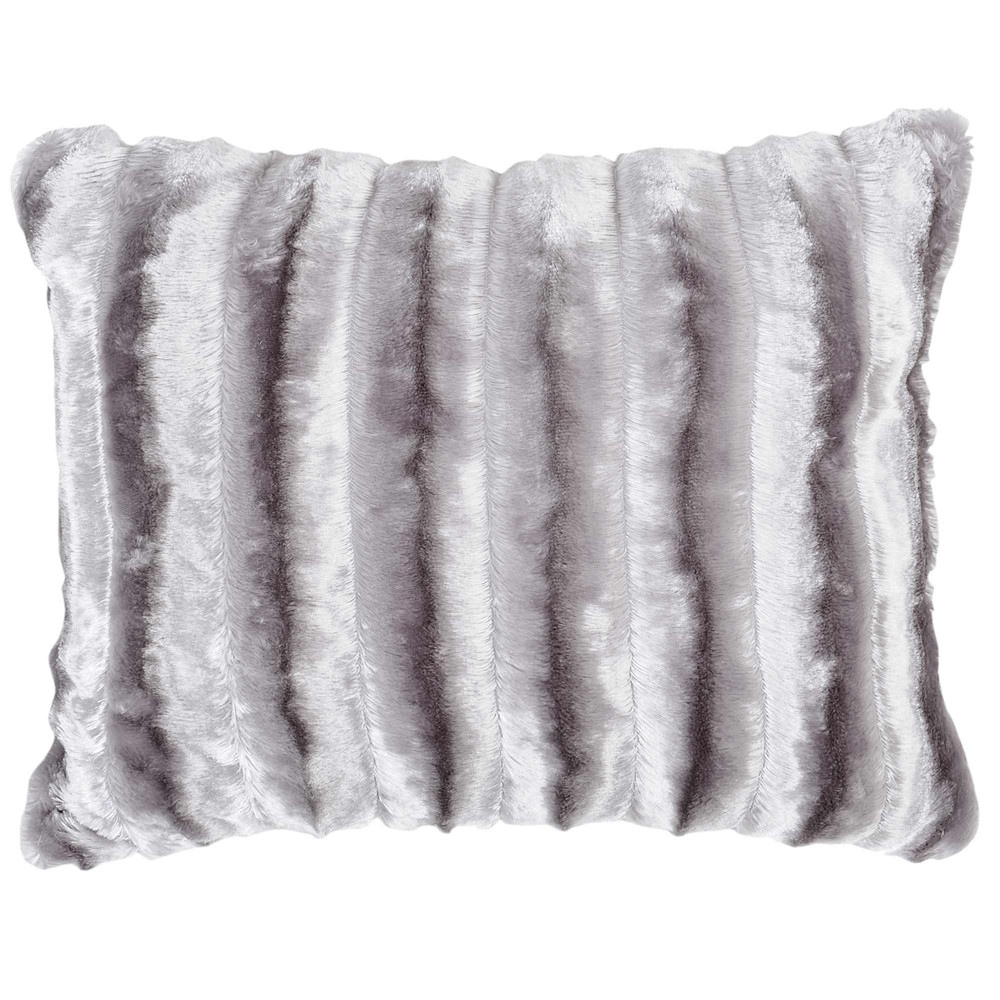 coussin fausse fourrure beige 35 x 50 cm fur maisons du monde. Black Bedroom Furniture Sets. Home Design Ideas