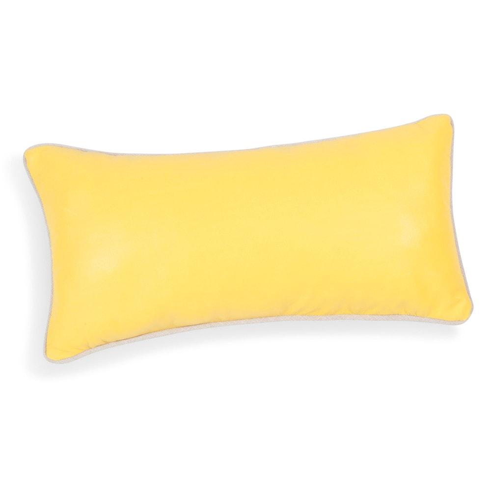 coussin jaune 25 x 50 cm yellow maisons du monde. Black Bedroom Furniture Sets. Home Design Ideas