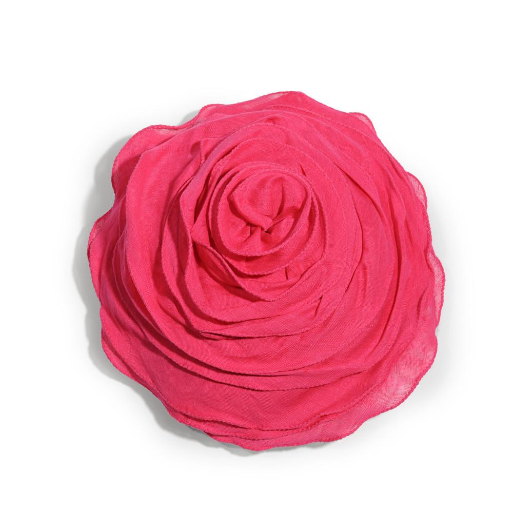 coussin rond en lin rose fuschia d 30 cm maisons du monde. Black Bedroom Furniture Sets. Home Design Ideas