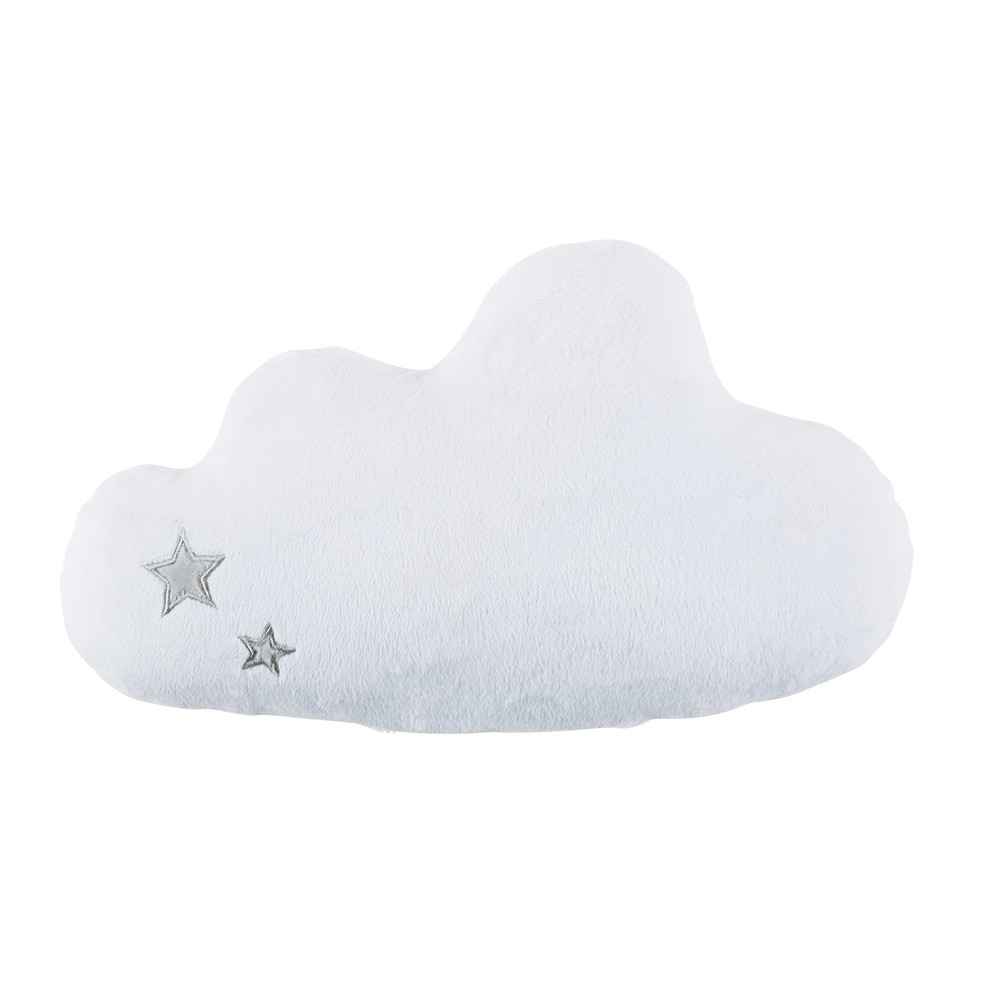 coussin veilleuse nuage blanc 35x18cm moonlight maisons. Black Bedroom Furniture Sets. Home Design Ideas