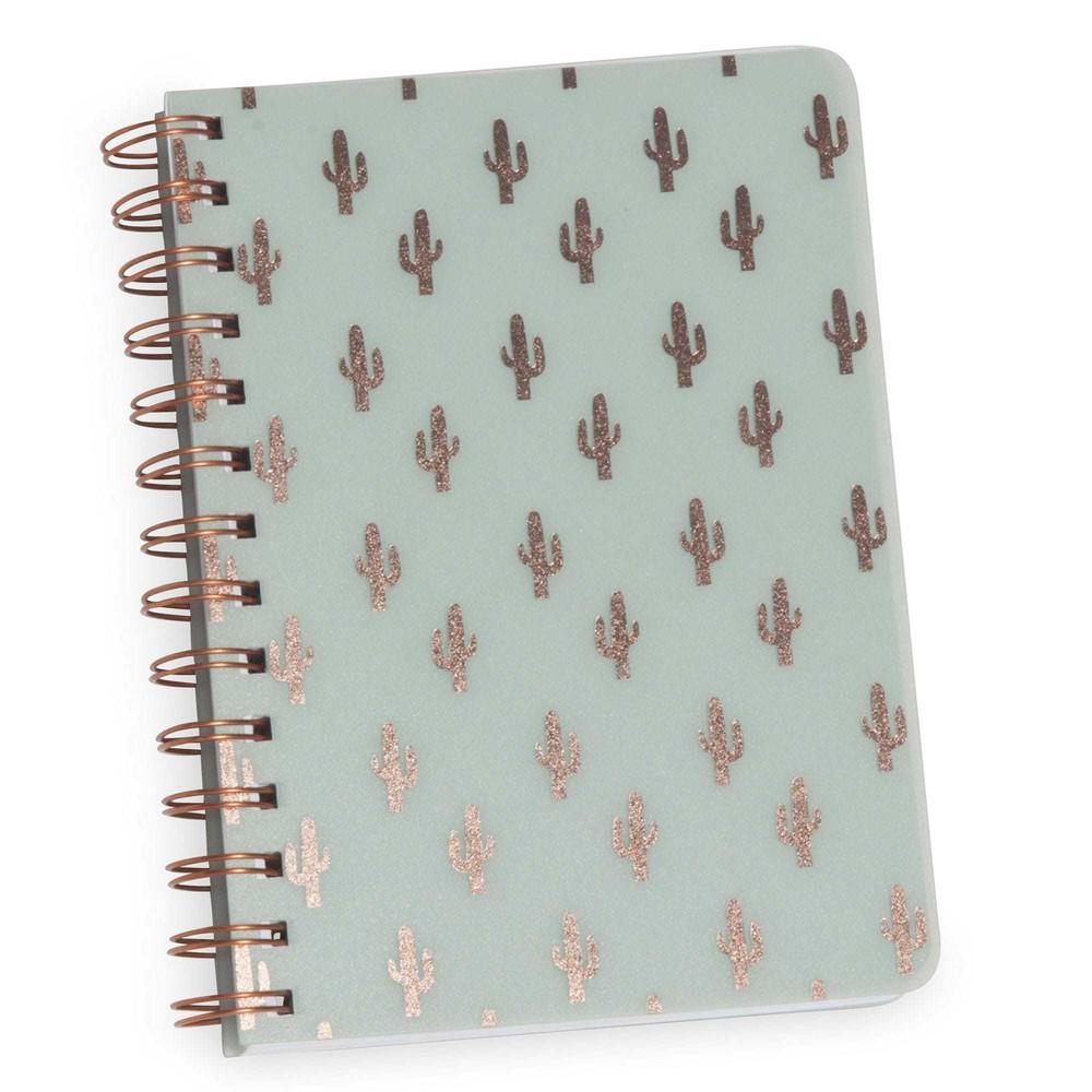cuaderno de notas verde cactus maisons du monde. Black Bedroom Furniture Sets. Home Design Ideas