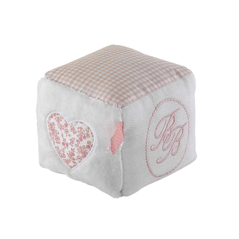 Cube d 39 veil enfant en coton 10 x 10 cm victorine maisons du monde - Maison du monde tapis d eveil ...