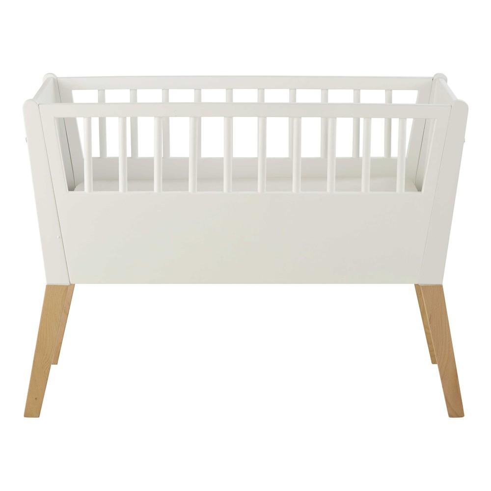 culla bianca in legno per neonati l 95 cm sweet maisons du monde. Black Bedroom Furniture Sets. Home Design Ideas