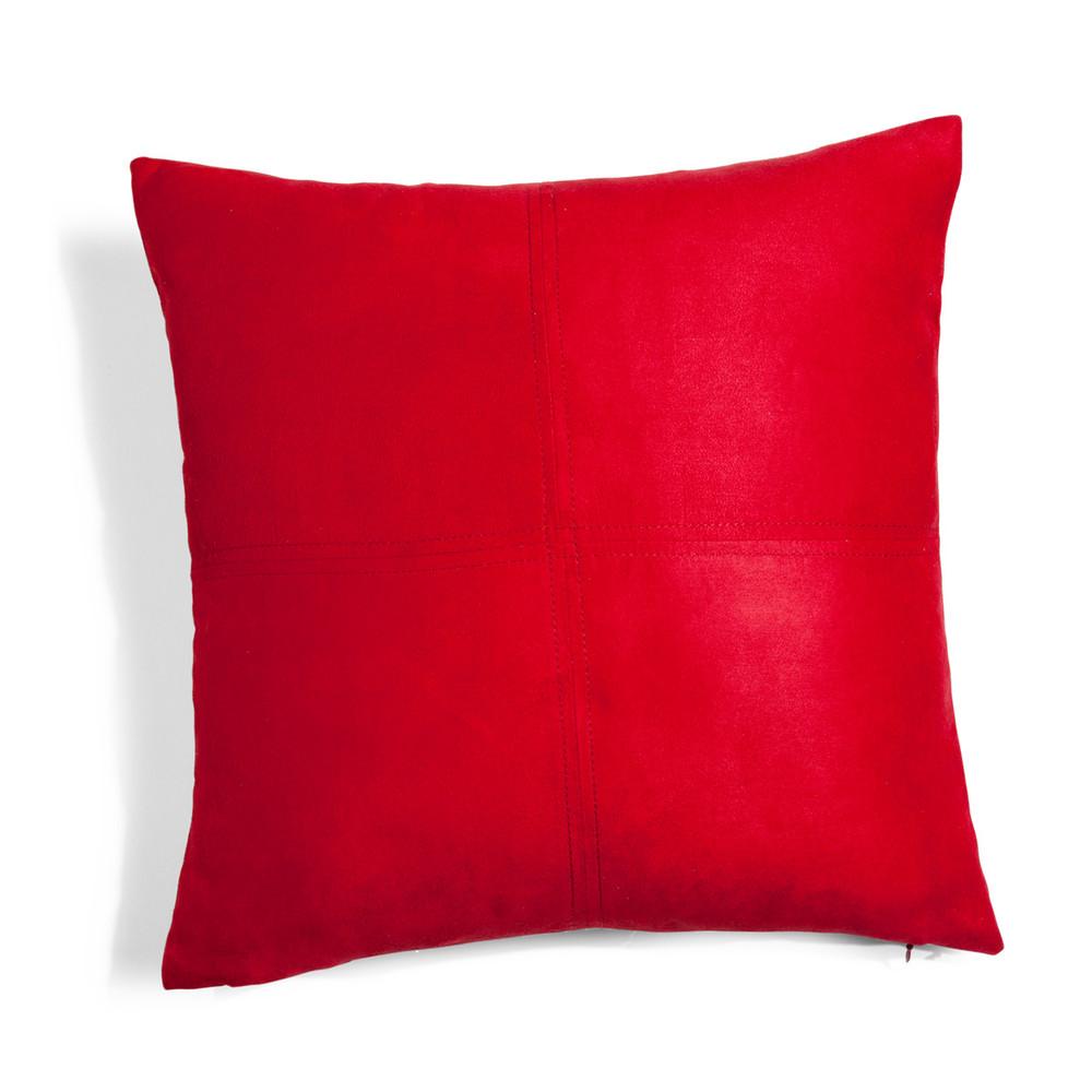 cuscino rosso 40 x 40 cm swedine maisons du monde. Black Bedroom Furniture Sets. Home Design Ideas