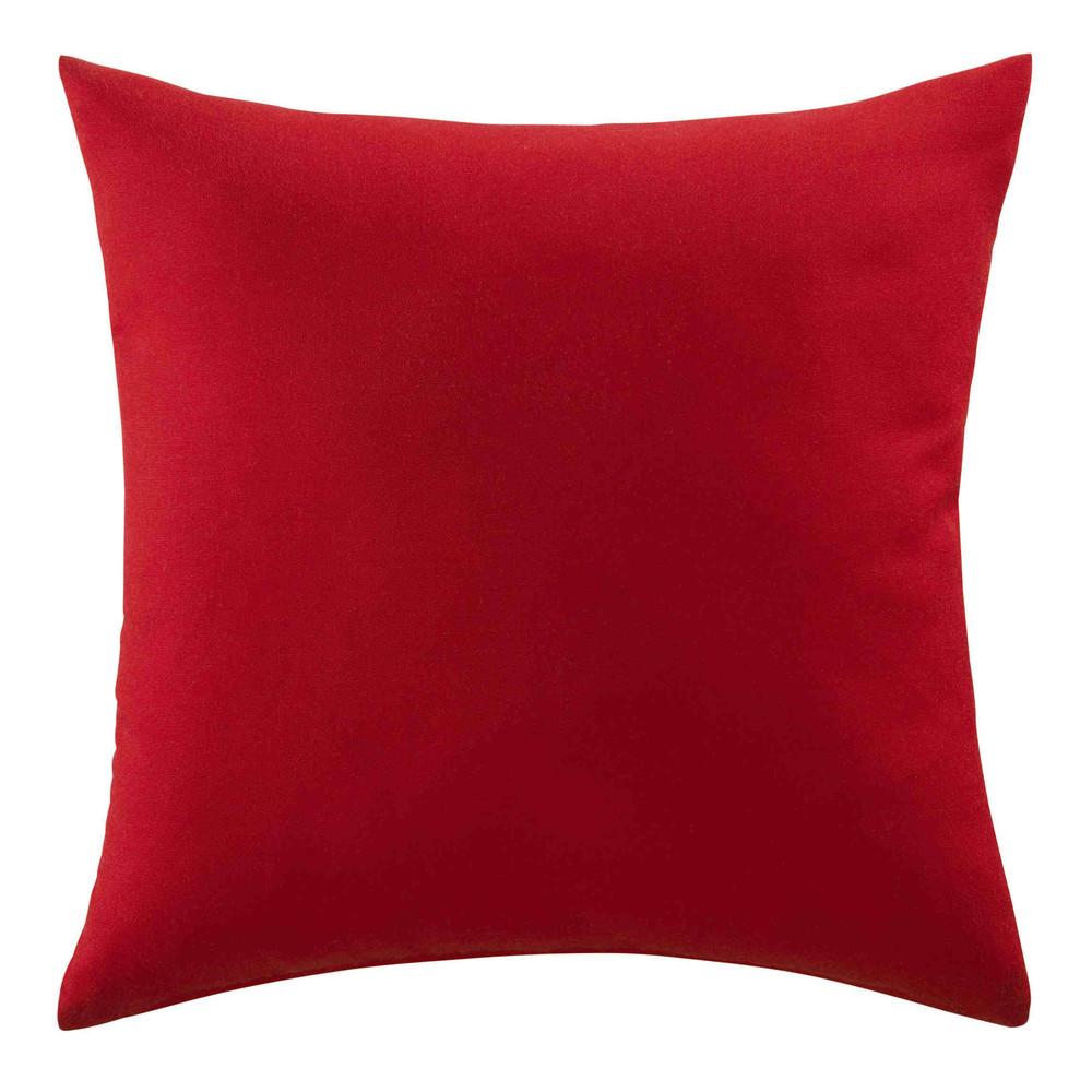 Cuscino rosso da esterno 40 x 40 cm maisons du monde - Maison du monde cuscini da esterno ...