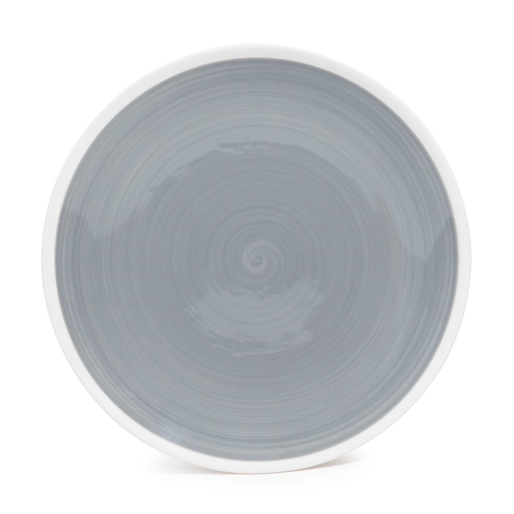 cyclades earthenware dessert plate grey d 21cm maisons du monde. Black Bedroom Furniture Sets. Home Design Ideas
