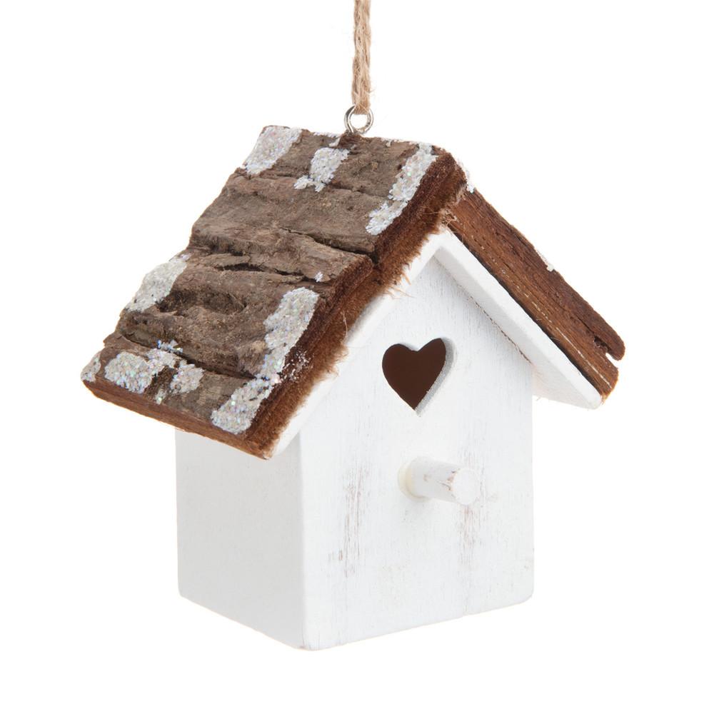 D co chalet pour sapin en bois h 8 cm montagne coeur - Sapin en bois maison du monde ...