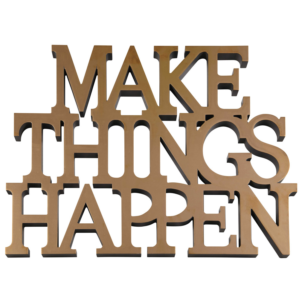 d co murale dor e make things happen maisons du monde