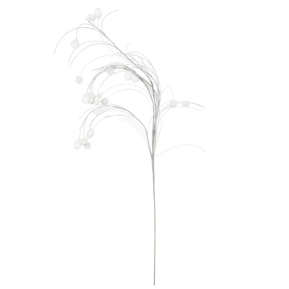 ... › arredo › Decorazione di Natale ramo bianco/argentato CHAMALLOW