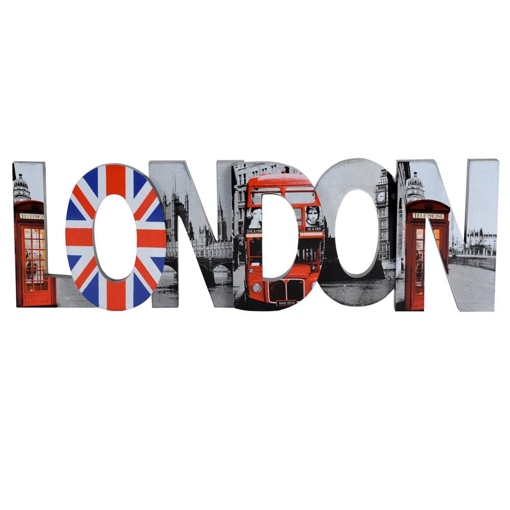 Decorazione murale london modello grande maisons du monde - Decorazione murale ...