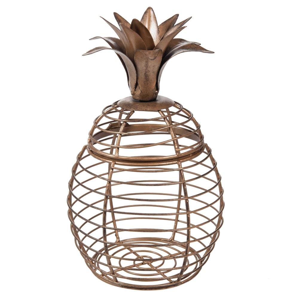 dose ananas aus metall maisons du monde. Black Bedroom Furniture Sets. Home Design Ideas