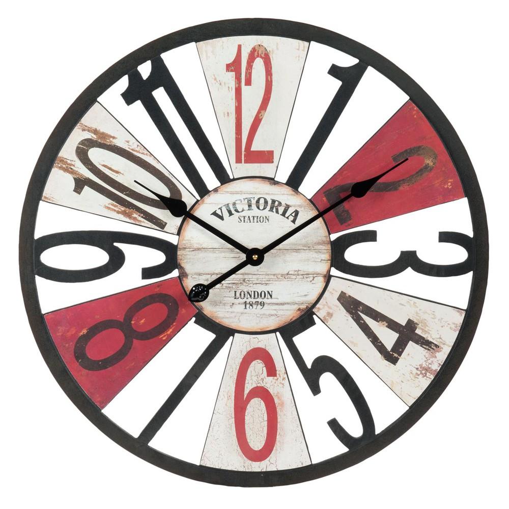 Douglas clock d 60cm maisons du monde - Horloge murale 60 cm ...