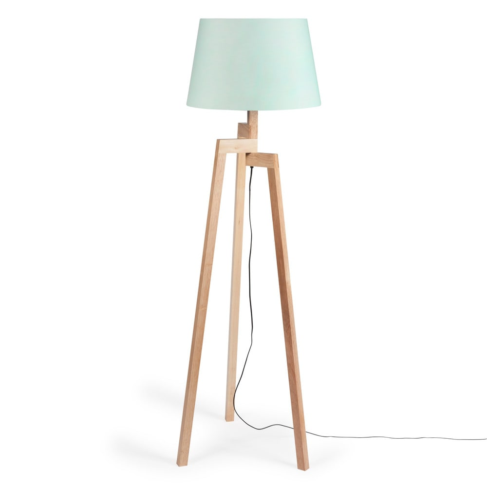 dreibein stehlampe aus holz pastel h 150 cm maisons du monde. Black Bedroom Furniture Sets. Home Design Ideas