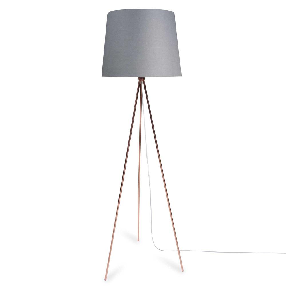 dreibein stehlampe aus metall h 148 cm whity copper maisons du monde. Black Bedroom Furniture Sets. Home Design Ideas