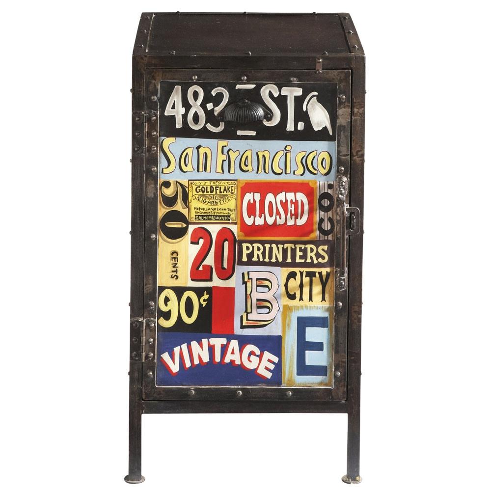 ... Commodes, kaptafels en kastjes u203a Dressoir 1 deur - Vintage VINTAGE