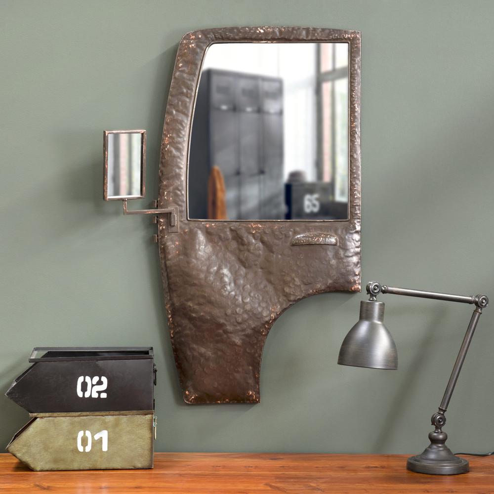 Espejo de estilo industrial puerta tacot maisons du monde for Espejo estilo industrial