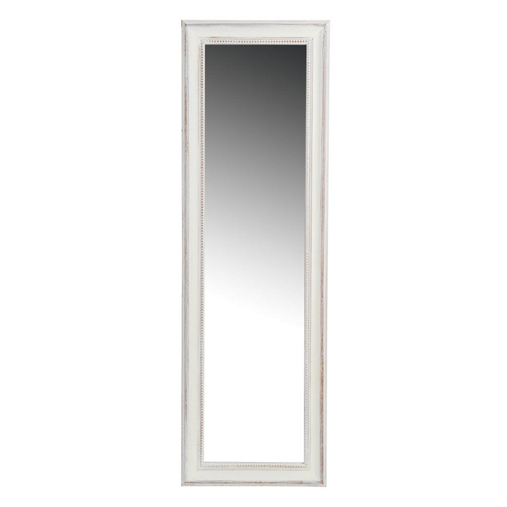 espejo de pie perla albayalde blanco maisons du monde