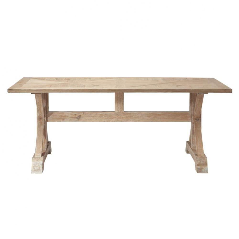 Esstisch aus eichenholz b 200 cm ramatuelle ramatuelle for Eichenholz esstisch