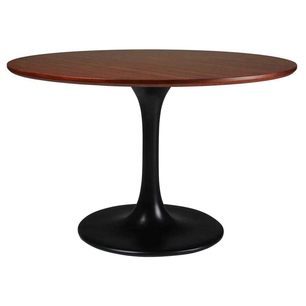 esstisch mit schwarzen glasfaserelementen cm magnum. Black Bedroom Furniture Sets. Home Design Ideas